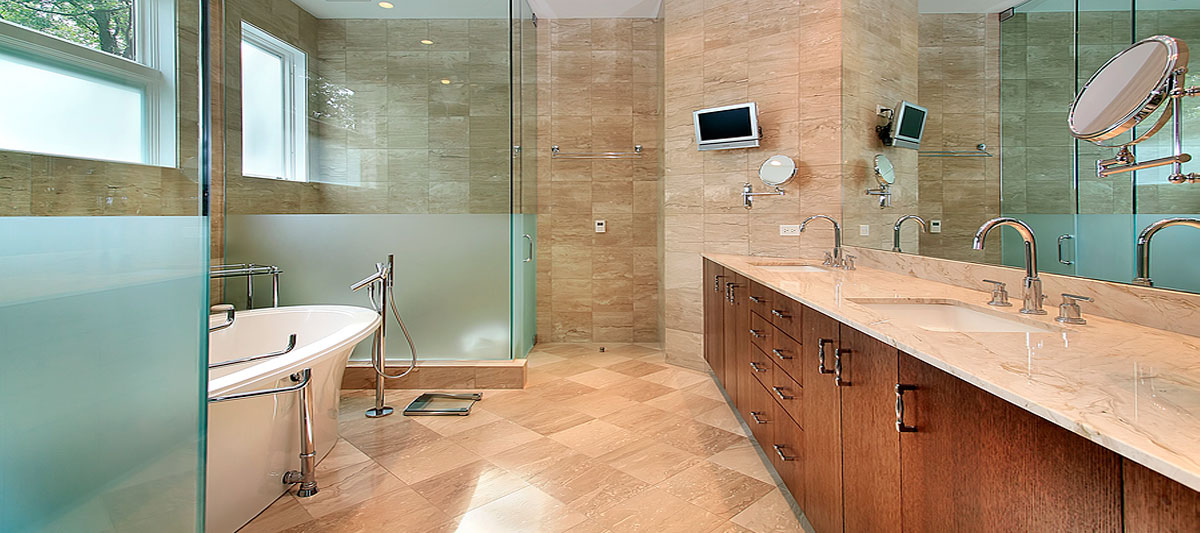 Slide-Frameless-Glass-Shower-Doors-Custom-Bathroom-Mirrors
